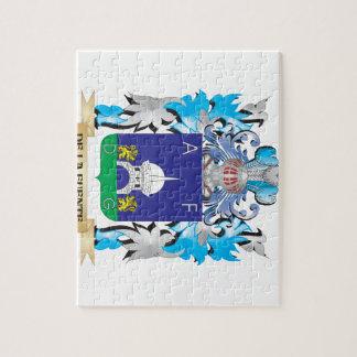 Escudo de armas del De-La-Fuente - escudo de la fa Puzzle