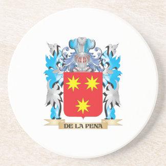Escudo de armas del De-La-Pena - escudo de la fami