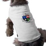 Escudo de armas del delta del Tau del delta Camisa De Perro