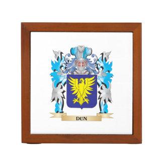 Escudo de armas del Dun - escudo de la familia Organizador De Escritorio