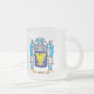 Escudo de armas del Dun - escudo de la familia Taza De Cristal