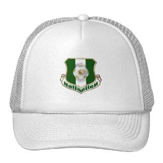 Escudo de armas del emblema del fútbol del fútbol  gorro de camionero