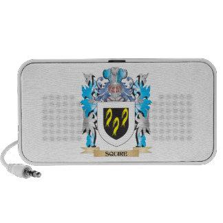 Escudo de armas del escudero - escudo de la iPod altavoces
