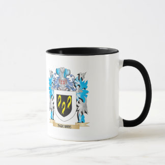 Escudo de armas del escudero - escudo de la taza