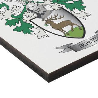 Escudo de armas del escudo de la familia de Bowen Cuadro