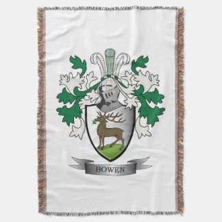 Escudo de armas del escudo de la familia de Bowen Manta