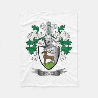 Escudo de armas del escudo de la familia de Bowen Manta Polar
