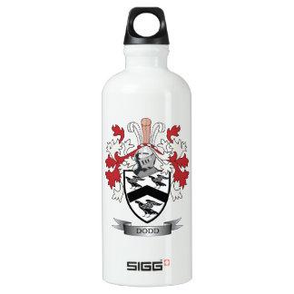 Escudo de armas del escudo de la familia de Dodd Botella De Agua De Aluminio