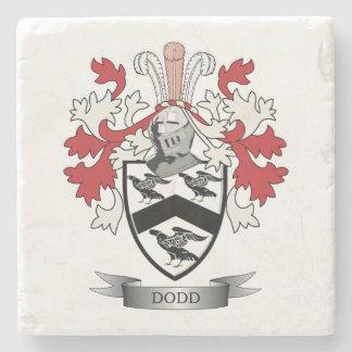 Escudo de armas del escudo de la familia de Dodd Posavasos De Piedra