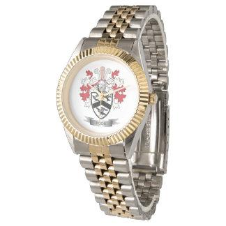 Escudo de armas del escudo de la familia de Dodd Reloj
