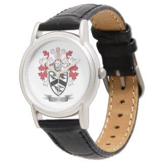 Escudo de armas del escudo de la familia de Dodd Relojes De Pulsera