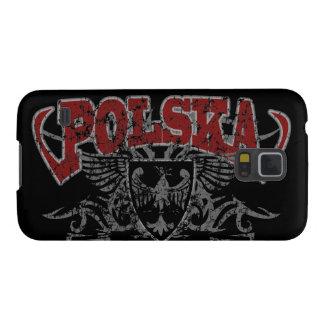 Escudo de armas del escudo de Polska Eagle Carcasa Para Galaxy S5