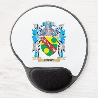 Escudo de armas del esmeril - escudo de la familia alfombrilla con gel