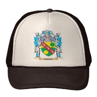 Escudo de armas del esmeril - escudo de la familia gorras de camionero