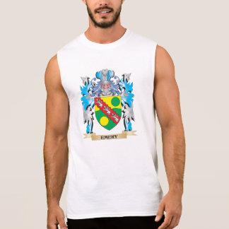Escudo de armas del esmeril - escudo de la familia camisetas sin mangas