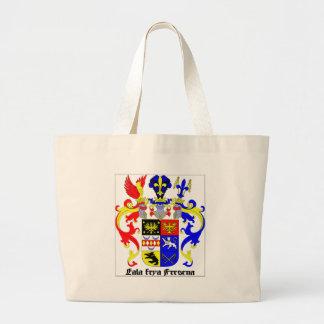 Escudo de armas del este de Frisia (Alemania) Bolsas De Mano