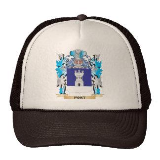 Escudo de armas del fuerte - escudo de la familia gorra