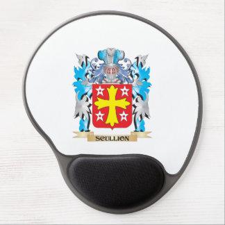 Escudo de armas del galopín de cocina - escudo de alfombrilla gel