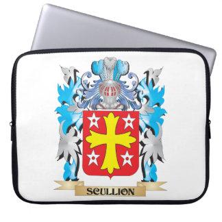 Escudo de armas del galopín de cocina - escudo de fundas computadoras