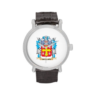 Escudo de armas del galopín de cocina - escudo de relojes de pulsera