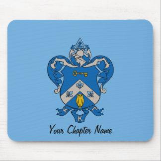 Escudo de armas del Gama de Kappa Kappa Mousepads