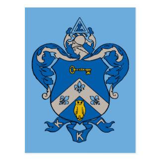 Escudo de armas del Gama de Kappa Kappa Postal