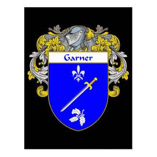 Escudo de armas del Garner (cubierto) Postales