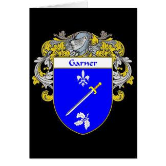 Escudo de armas del Garner (cubierto) Tarjeta De Felicitación