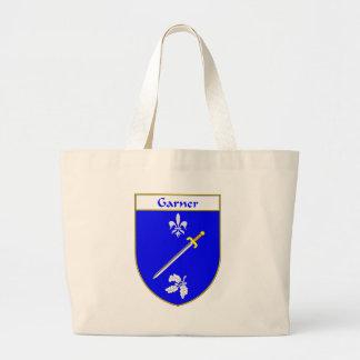 Escudo de armas del Garner/escudo de la familia Bolsa Tela Grande