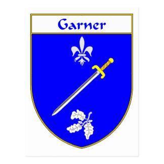 Escudo de armas del Garner/escudo de la familia Tarjetas Postales