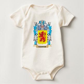 Escudo de armas del gemido - escudo de la familia mameluco de bebé