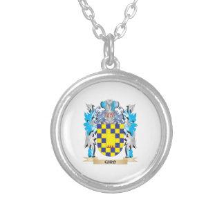 Escudo de armas del giro - escudo de la familia colgantes personalizados