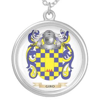 Escudo de armas del giro (escudo de la familia) pendiente personalizado