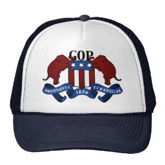 Escudo de armas del GOP Gorras De Camionero