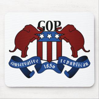 Escudo de armas del GOP Alfombrilla De Ratón
