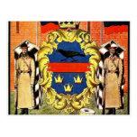 Escudo de armas del Governorate de Heorhiy Narbut- Tarjeta Postal