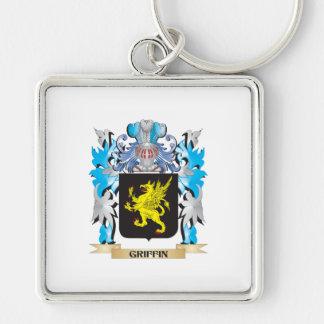Escudo de armas del grifo - escudo de la familia llavero personalizado