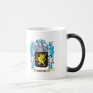 Escudo de armas del grifo - escudo de la familia taza de café