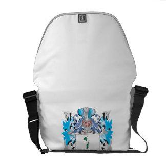 Escudo de armas del grito - escudo de la familia bolsa de mensajería