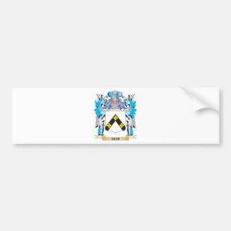 Escudo de armas del heredero - escudo de la pegatina para auto