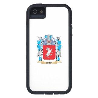 Escudo de armas del Herm - escudo de la familia iPhone 5 Case-Mate Fundas
