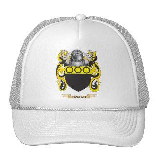 Escudo de armas del Hogan escudo de la familia Gorras De Camionero