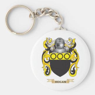Escudo de armas del Hogan escudo de la familia Llavero