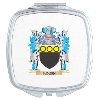 Escudo de armas del Hogan - escudo de la familia Espejo Para El Bolso