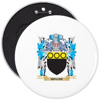 Escudo de armas del Hogan - escudo de la familia