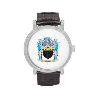 Escudo de armas del Hogan - escudo de la familia Relojes De Pulsera