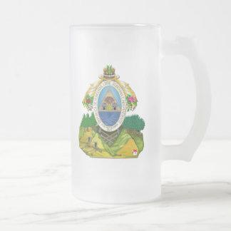 Escudo de armas del Honduran del emblema de Hondur Tazas De Café
