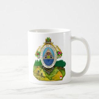 Escudo de armas del Honduran del emblema de Hondur Taza De Café