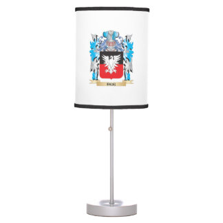 Escudo de armas del huevo - escudo de la familia lámpara de mesa