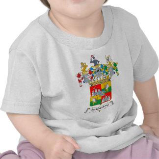 Escudo de armas del húngaro de la familia de Andra Camisetas